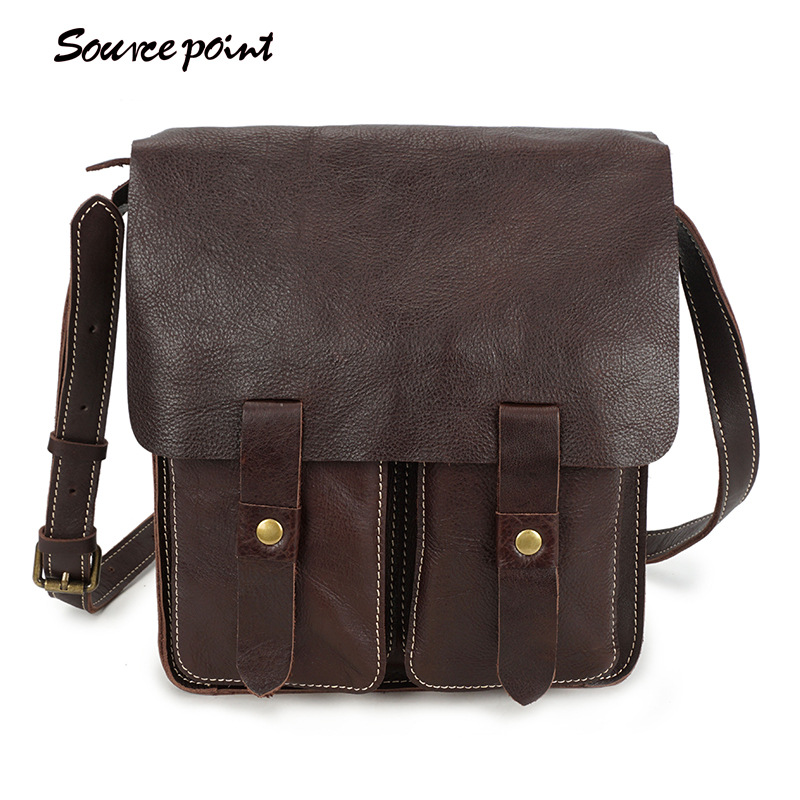 SOURCE POINT Genuine Leather Men