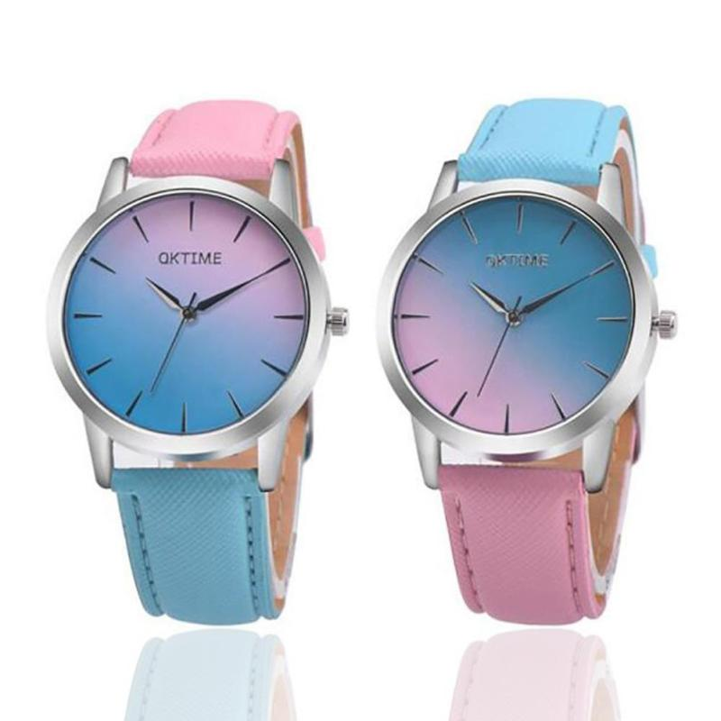 Hit the Color Watch Women Fashion Quartz Watches Youth Students Ladies Gift Curren Bracelet Wristwatch 119074