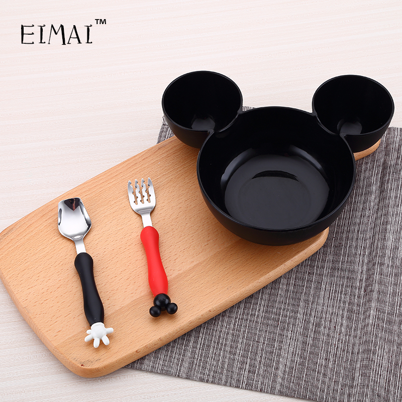 EiMai Children Dinnerware Set Tableware Cutlery Sets Fork