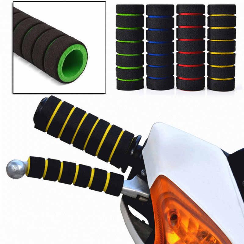 Motorfiets grips Grip Spons Stuur voor Kawasaki ZR750 ZEPHYR ZX6 ZX9R ZXR400 ZZR600 VERSYS 1000