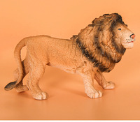 simulation lion Static Plastic toy about 26x12x15cm lion model Environmental material Cognition model baby toy gift w0987