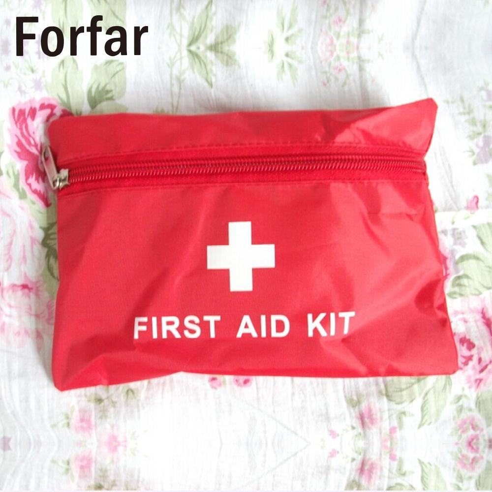 Safety Outdoor Tools Pouch Care Package First Aid Kit Bag Useful Rescue Durable 14*21cm Necessity Red Portable Camping Supplies