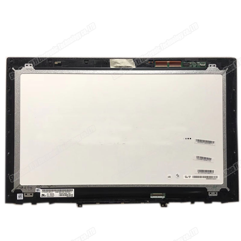 IPS LCD Display Panel Assembly +Bezel B156HTN03.6 For Lenovo Y50 70 1920x1080 15.6'' FHD LED Touchscreen Glass Digitizer