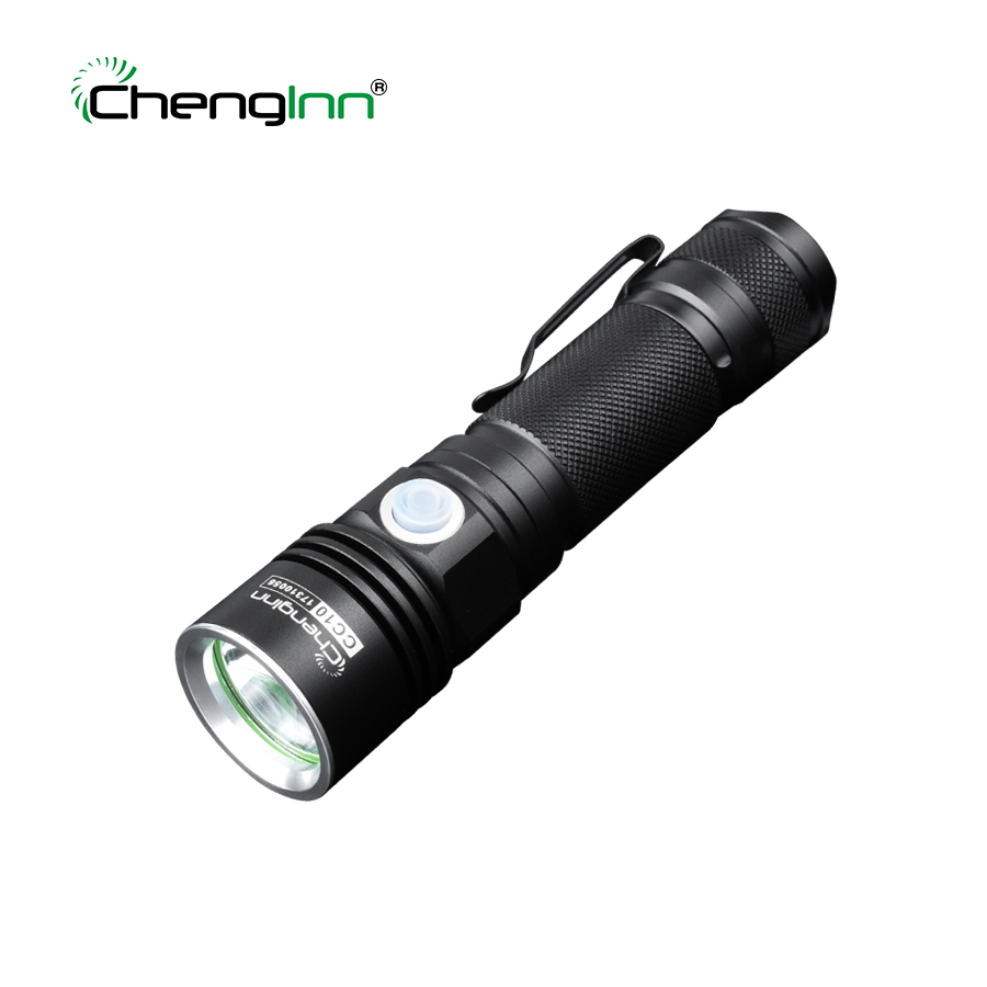 Rechargeable Waterproof LED Flash lights flashlights torches underwater 3 Modes Convoy Hand Torch Lamp 18650 Battery lanterna ...