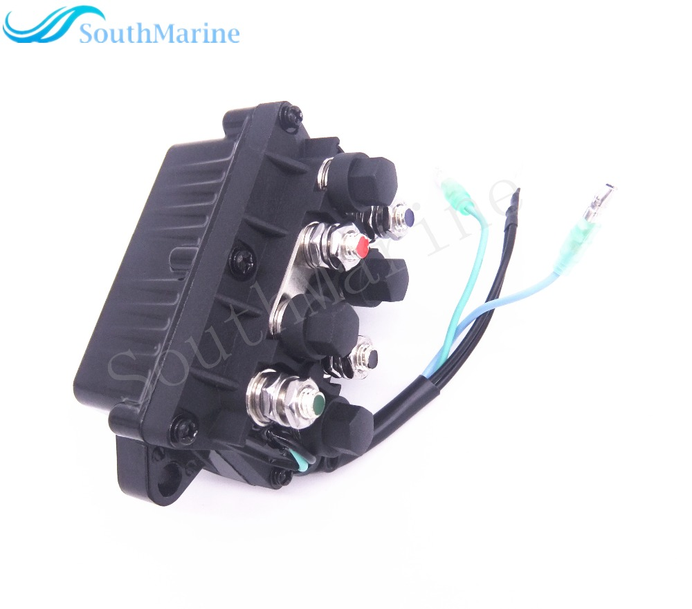 Boat Power Trim and Tilt Relay Assy 6H1-81950-00-00 6H1-81950-01-00 for Yamaha 30 - 90hp Outboard Engine