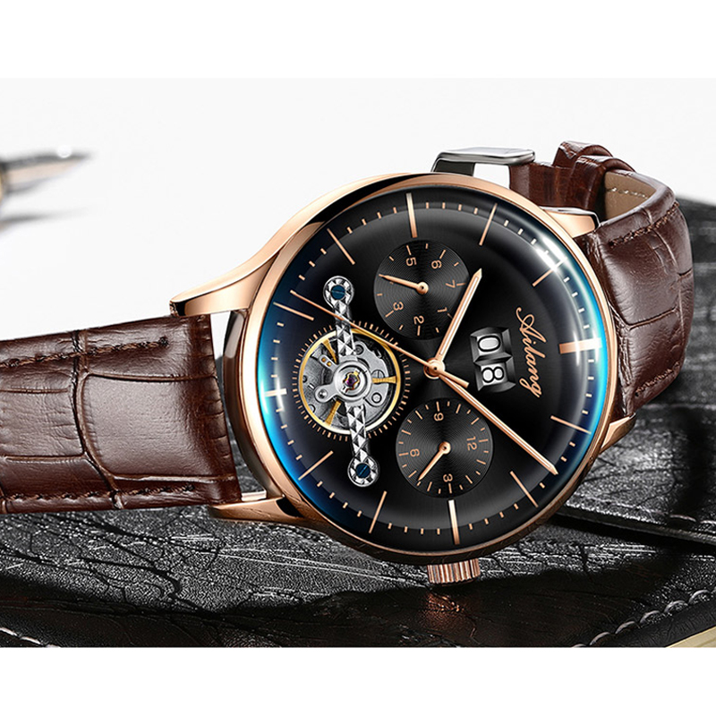 2019 men's/mens watches top brand luxury automatic/mechanical/luxury watch men sport wristwatch mens reloj hombre tourbillon