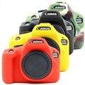 Резиновый силиконовый защитный чехол  чехол для корпуса  мягкая сумка для камеры для Canon EOS 3000D 4000D Rebel T100 DSLR защитная рамка  чехол