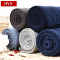 HYX Brand Men Cotton Thermal Pants Mid Waist Long Johns 5 Colors Male Roupa Termica Cotton Men's Underwear