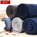 Hyx marca hombres pantalones mediados de cintura de algodón térmica calzoncillos largos 5 colores masculinos roupa termica underwear hombres del algodón