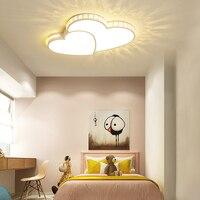 YooE светодиодный потолочный светильник современный гостиная освещение приспособление спальня поверхностного монтажа скрытая панель