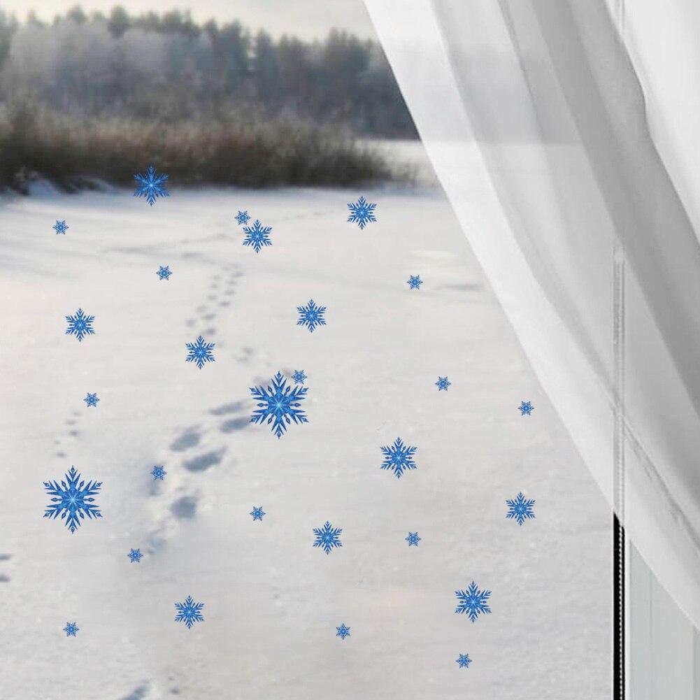 e12814df151 Los copos de nieve hermosos pegatinas de pared decoración para el hogar  ventana de cristal zooyoo1442 creativo DIY Decals arte mural Boda REGALOS  3.5
