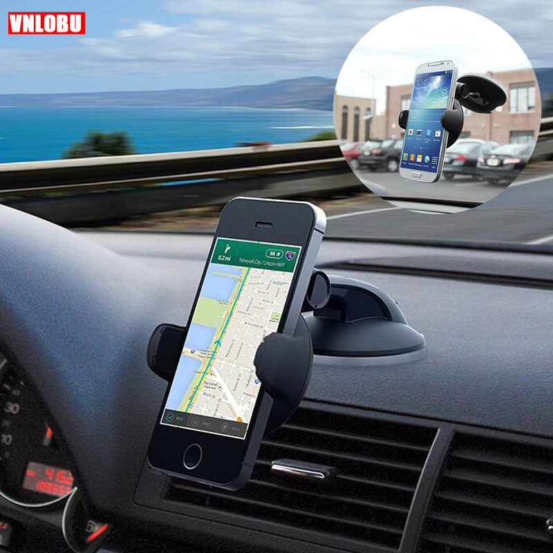 Car Phone Mount Grey Galaxy S6//S7//S8//S9 Simr K9 Dashboard Car Phone Holder,Upgraded Adjustable Windshield Holder with Washable Strong Sticky Gel Pad for iPhone Xs MAX//XS//XR//X//8//8Plus//7//7Plus//6s//6P