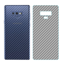 5Pcs/lot For Samsung Galaxy Note 9 S8 S9 Plus Note 8 9 A6 A8 Plus 2018 3D Carbon Fiber Full Cover Back Screen Protector Film for samsung galaxy note10 pro 3d carbon fiber protective back film for galaxy note 8 9 10 10 back screen protector film sticker
