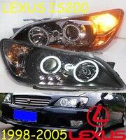 Lexu IS200 headlight,2006~2012,Fit for LHD,Free ship! IS200 fog light,2ps/set+2pcs Ballast; IS200