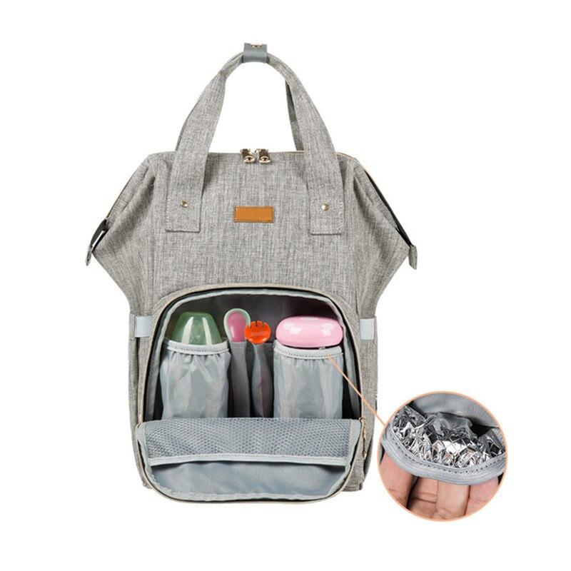 купить Upgrate Fashion Maternity Bag Mummy Nappy Bags Brand Large Capacity Baby Bag Travel Backpack Design Nursing Diaper Bag Baby Care по цене 1576.86 рублей