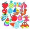 96Pcs 48Pcs Kids Cartoon Color Paper Folding and Cutting Toys Children Kingergarden Art Craft DIY Educational Toys GYH flash sale