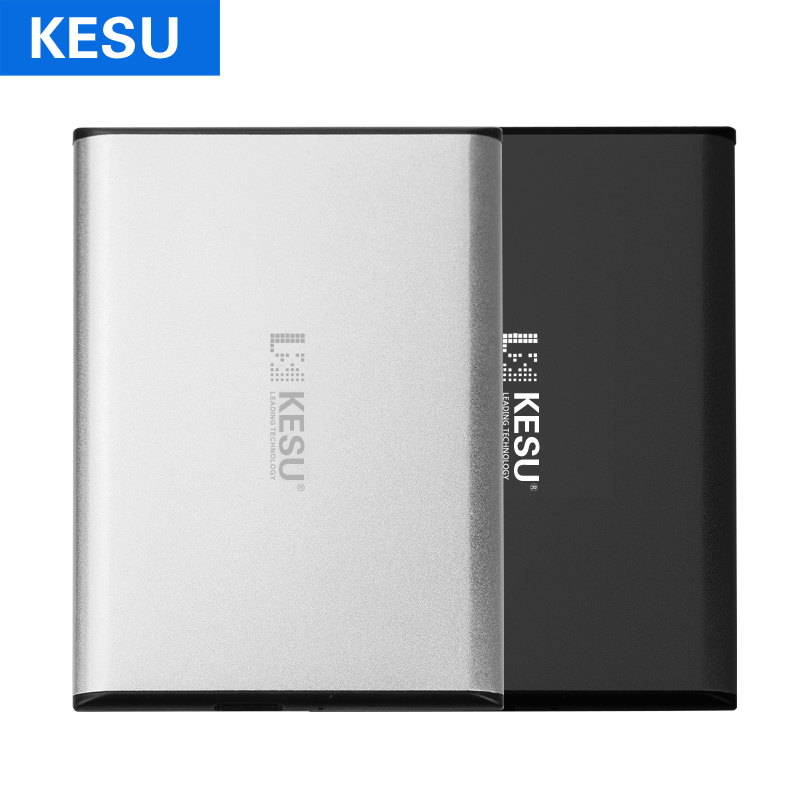KESU HDD USB3.0 Mince Disque Dur Externe 1 tb 2 tb Disque Dur HD pour PC/Mac Ordinateur Portable De Bureau xbox un, xbox 360, PS4, TV Box