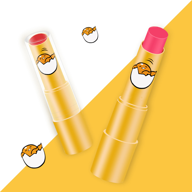CN-RUBR Cartoon Lipstick Duck Rabbit 6 Colors Moisturizer Makeup Waterproof Velvet Lipstick Long Lasting Lip Gloss Cosmetics