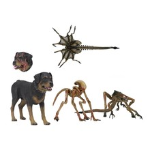 4 pçs/set NECA Aliem 3 Criatura Alienígena Cão Pack Action Figure Toy Presente Halloween Horror 18cm(China)