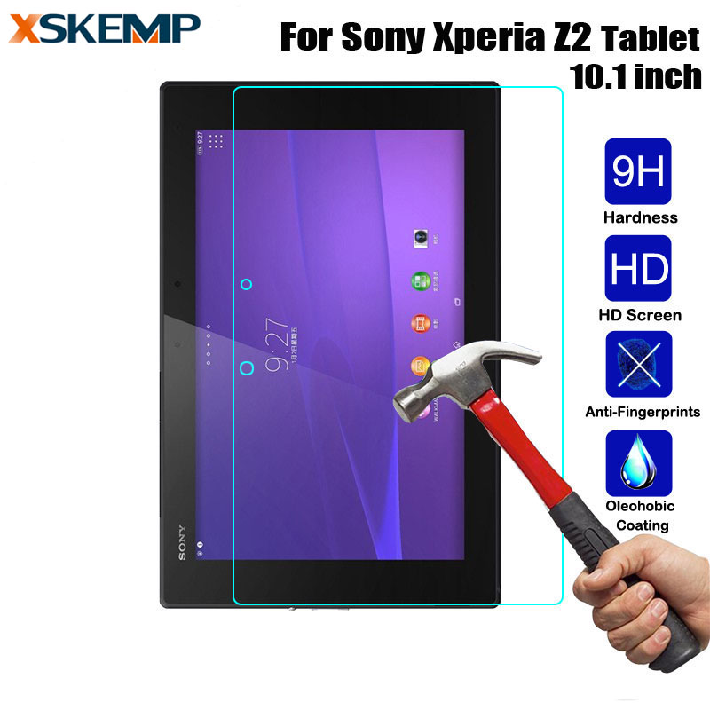 Shenzhen Raytop Technology co., LTD For Sony Xperia Z2 Tablet 10.1 SGP541/521 Explosion-Proof Safety Protective Guard Film Clear LCD Tempered Glass Screen Protector
