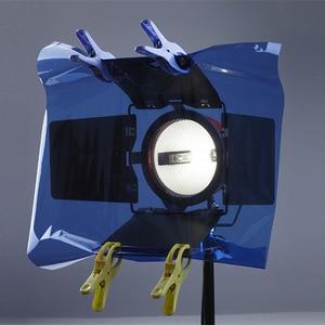 Image 3 - Photo Studio 4pcs/Set 80cm x 100cm Color Gel Filter Paper For Studio Video Lighting Photo Studio Accessories Hot Sales