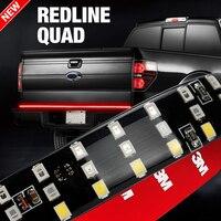 OKEEN 60 Triple 3 Row LED Tailgate Light Bar for Pickup SUV with Amber Turn Signal, Red Brake/Running, White Reverse Lights