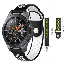 22mm Strap for Samsung Gear S3 sport Frontier Classic galaxy Watch active 46mm Band huami amazfit 1 2 huawei GT(China)