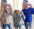 2016 New Winter&Autumn Women Hoodies Women Hooded Long Sleeve Casual Sweatshirts Women Clothes