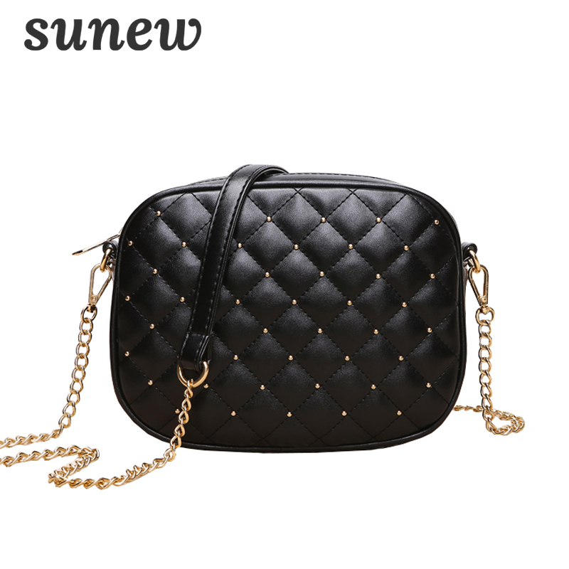 PU Leather Shoulder Bag Ladies Small Chain Messenger Bag Handbag Crossbody Bags For Women 2018 Bolsa Feminina Bolsos Mujer K059 pu bolsa feminina bolso mujer crossbody bags for women messenger bag women messenger bags clutch female