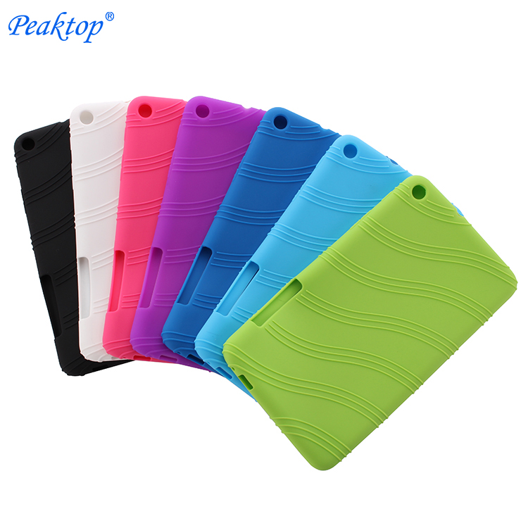 Ultra Slim Soft Silicone TPU Protective Back Case Cover For Huawei MediaPad T1 7.0 T1-701 T1-701U / T2 7.0 BGO-DL09 BGO-L03