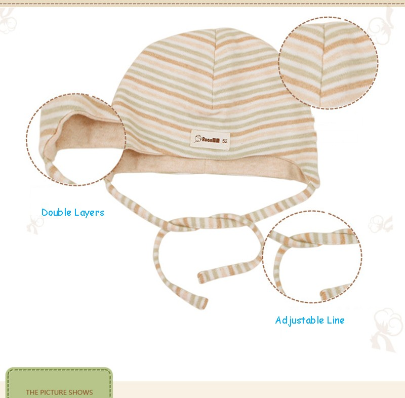 Natural Cotton Baby Hat (5)