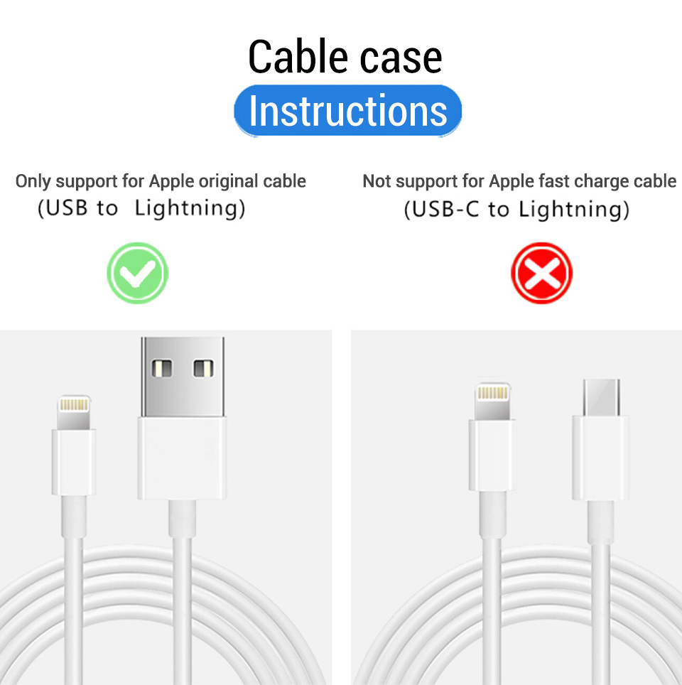 HTB1CGaBbffsK1RjSszbq6AqBXXar PZOZ USB Cable Protector For iPhone X XS Max XR 8 7 6 Plus 5 S SE Cable Winder Protection Cord Saver For Original iPhone Cable