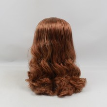 Factory Neo Blythe Doll Brown Wavy Hair Jointed Body 30cm