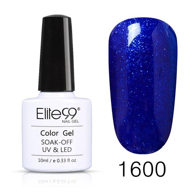 Elite99 10ml Sommer Gel Nagellack UV Vernis Semi Permanent Primer Top Mantel Lack Reine Farbe Lack GelLak Polnischen lack