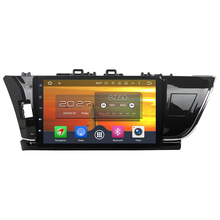 Android 6.0.1 Octa Core 4GB RAM 32GB GPS navigation Bluetooth Car Multimedia Player For Toyota Corolla 2014-2015 Left