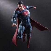 Film Figure 25 CM JOUER ARTS KAI Batman V Superman l'aube de La Justice Variante Superman PVC Action Figure Collection Modèles jouets
