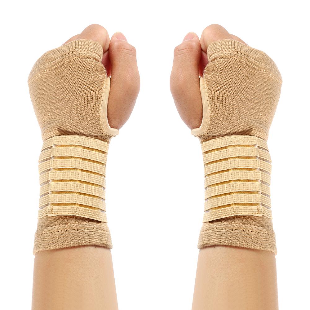 2pcs/1 Pair Elasticity Wrist Bandage Support Sportswear Arthritis Band Belt Outdoor Carpal Tunnel Hand Brace Accessories