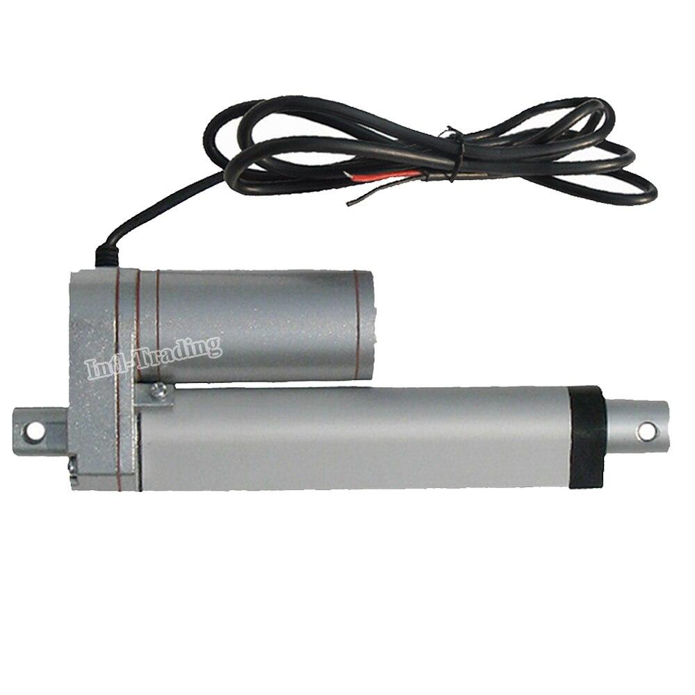 100mm 4inch stroke heavy duty dc 12v 1500n 330lbs load for Heavy duty dc motor