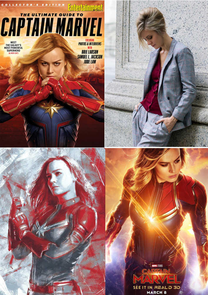Captain Marvel 1 Posters Wall Stickers The Perfect Red Velvet Bad Boy K-Pop Home Decoration High Definition