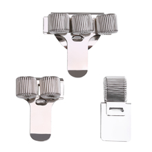 1 шт. одноместный/двухместный/тройной отверстие металлическая пружина для ручек держатель с зажимом для кармана врач-медсестра форма ножка рейсфедера канцелярские принадлежности