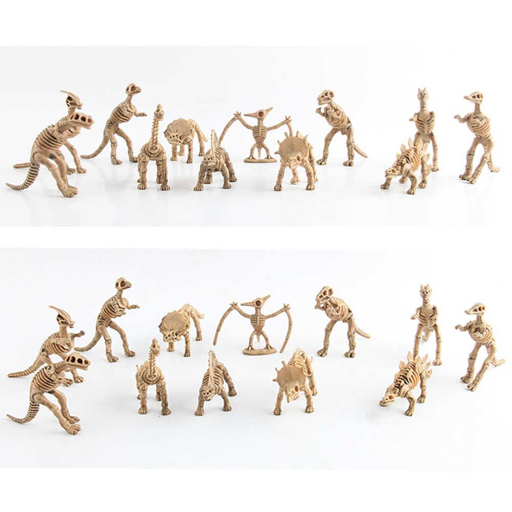 12 estilo Dinossauros Brinquedos Caçoa o Presente Criativo Brinquedo Dinossauro Tiranossauro Rex Jurassic World Action Figure Brinquedos para Coleção