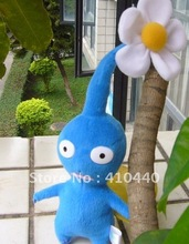 In hand Blue Flower Pikmin Plush Toy Lovely Gift For Kids
