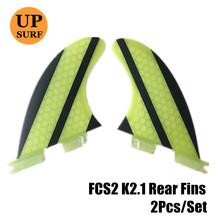 Surfboard FCS2 Fins Quilhas FCS ii Fins K2.1 rear fins Fibreglass Honeycomb Surf FCSII Fins in Surfing