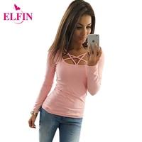 2017 autumn t shirt women long sleeve slim fit fashion ladies top hollow out tops tee.jpg 200x200