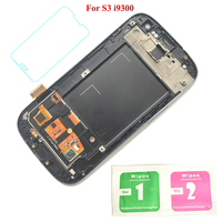 High Quality LCD Display 100 Working Touch Screen With Frame Assembly For Samsung Galaxy S III