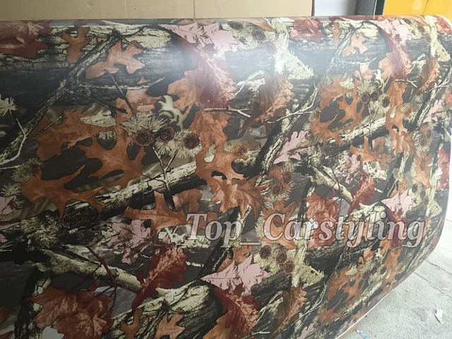 9a936163aa72d New Realtree Vinyl wrap real tree leaf Camouflage Mossy Oak Car wrap Film  foil for Vehicle COVERING FOIL air f're 1.52x30m/Roll