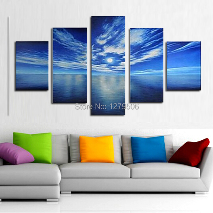 Handmade Oil Painting On Canvas Wall Art Home Decor For