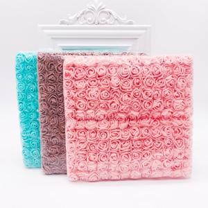 Image 2 - Nuovo (144 pz/lotto) 2 centimetri testa Multicolor PE Rosa Schiuma Mini Bouquet di Fiori di Colore Solido/Scrapbooking Artificiale della gomma piuma della Rosa Fiori