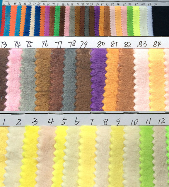 330g/yards Eco Friendly Crystal Ultrafine Super Soft Velvet Variety Of  Colors Wholesale/