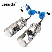 For H4 Mini Lossless HID Car Bi Xenon Projector Lens H4 Projector 12V 55W Headlight HID Bulb Light Lamp Hi/Lo Beam Headlights